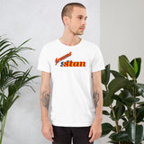 femme stan pride all gender T-Shirt we stan femme! be femme stan! rainbow print.