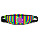 Q is for queer rainbow pride Fanny Pack