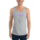 trans flag be empathy all gender Tank Top