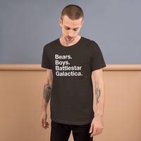 Bears.Boys. BSG all gender T-Shirt up to 4XL