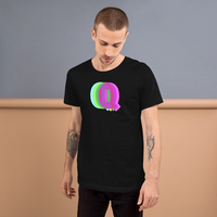 """Q is for queer"" all gender T-Shirt"