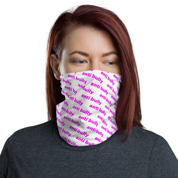 anti bully face mask bike / run / shop / live / be human / be safe version pink