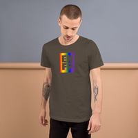 ENFP all gender T-Shirt rainbow cube
