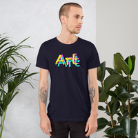 life is art. be art. art all gender T-Shirt