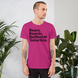 Bears Beards BSG all gender T-Shirt up to 4XL