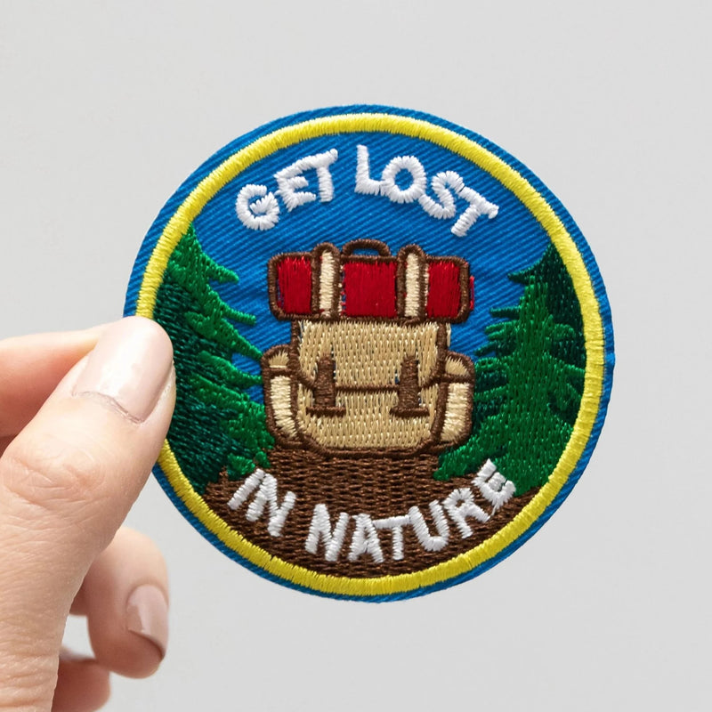 Get Lost in Nature Patch