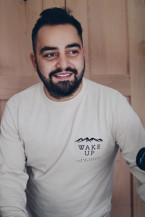 Wake Up and Smell the Mountains Long Sleeve