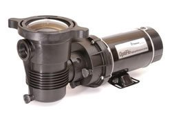 Image of Pentair 347997 OptiFlo Vertical Discharge Aboveground Pool Pump with CSA and 25-Feet Cord, 1 HP - K&J Leisure