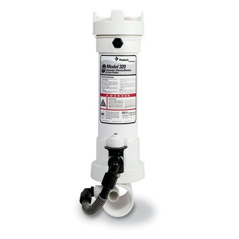 Pentair R171096 Rainbow 320 Automatic Chlorine/Bromine In-Line Pool and Spa Feeder