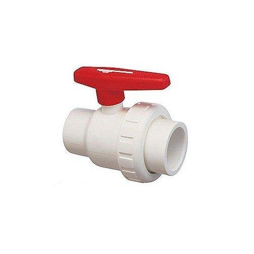 PRAHER 150-010 1.5IN SKT SINGLE UNION BALL VALVE PVC
