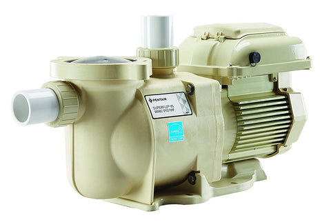 Pentair 342001 SuperFlo VS Variable Speed Pool Pump, 1 1/2 Horsepower, 115/208-230 Volt, 1 Phase - Energy Star Certified - K&J Leisure