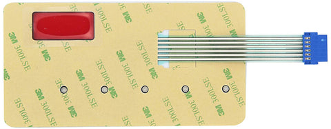 Image of Pentair 42002-0029Z Switch Membrane Replacement Sta-Rite Max-E-Therm Pool and Spa Heater Electrical Systems