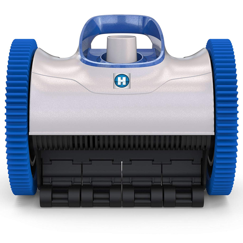 Hayward W3PHS21CST Aquanaut 200 Suction Drive 2-Wheel Pool Cleaner with 33 Feet Hose Kit, Gray and Blue