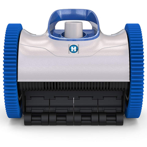 Image of Hayward W3PHS21CST Aquanaut 200 Suction Drive 2-Wheel Pool Cleaner with 33 Feet Hose Kit, Gray and Blue
