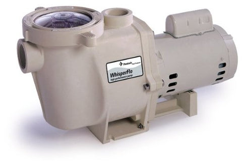 Pentair 011513 WhisperFlo High Performance Energy Efficient Single Speed Full Rated Pool Pump, 1 Horsepower, 115/208-230 Volt, 1 Phase