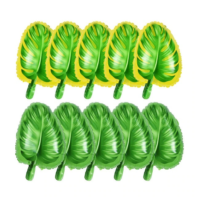 Ballon Feuille Tropical | Decoration-Tropicale.com