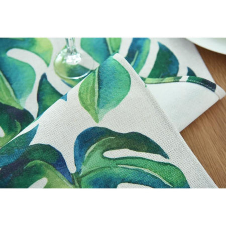 Chemin De Table Feuille | Decoration-Tropicale.com
