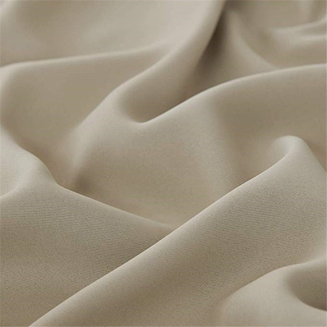 Rideau Occultant Beige Taupe | Decoration-Tropicale.com