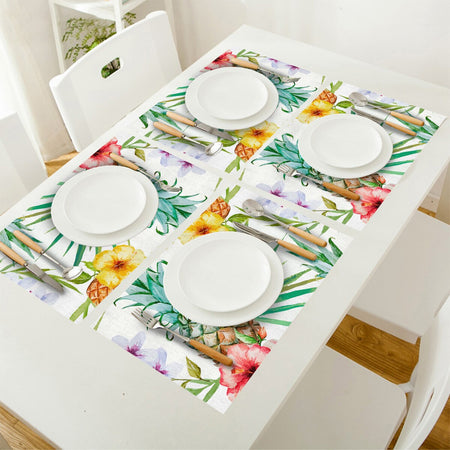 Set De Table Ananas | Decoration-Tropicale.com