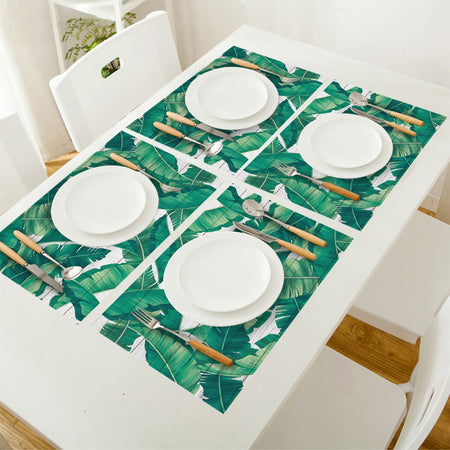 Set De Table Feuille De Bananier | Decoration-Tropicale.com