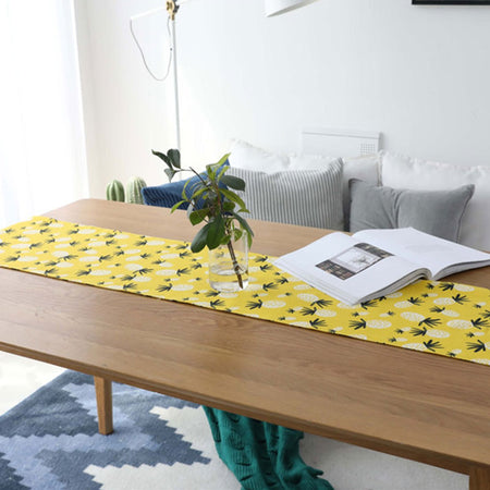Chemin De Table Ananas | Decoration-Tropicale.com