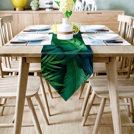 Chemin De Table Jungle | Decoration-Tropicale.com