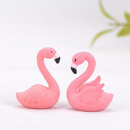 Flamant Rose En Resine | Decoration-Tropicale.com