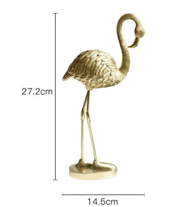 Flamant Rose Resine | Decoration-Tropicale.com