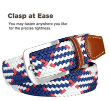 Load image into Gallery viewer, Elastic Stretch Braided Belt, Fairwin Enduring Stretch Woven Belt for Men Women Junior