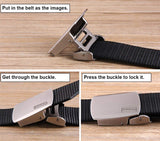 Fairwin Men's Nylon Tactical Web Belt Metal Buckle- Military Style Casual Army Outdoors Belt