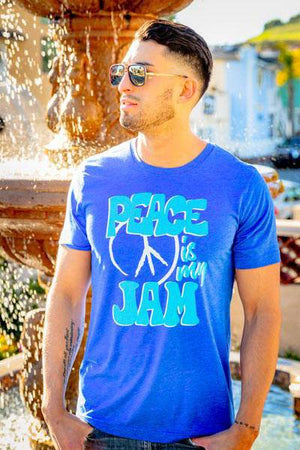 Peace is my Jam Tee (Men) Tee Shirt Higher Vibes Apparel