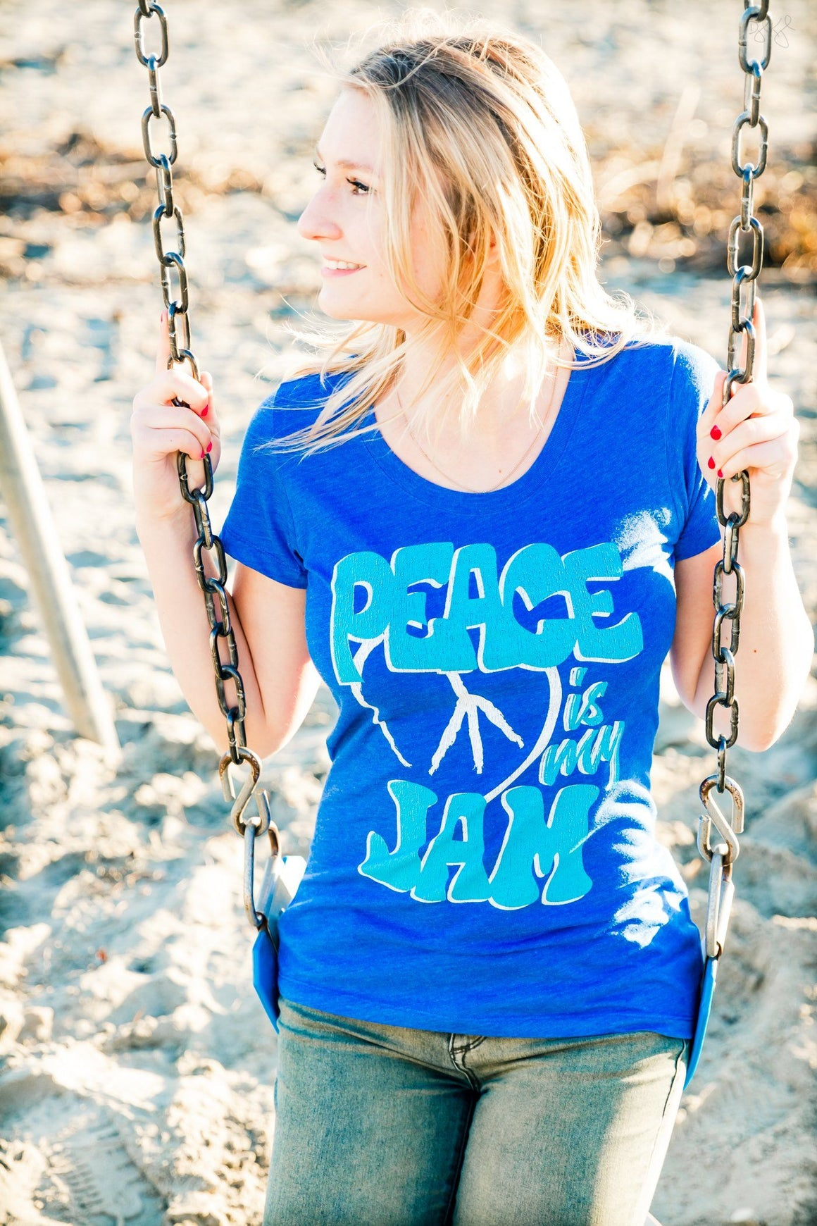 Peace is my Jam Tee (Women) Tee Shirt Higher Vibes Apparel