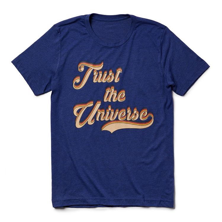 Trust the Universe Tee (Men) Tee Shirt Higher Vibes Apparel