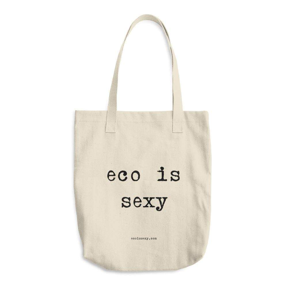 Bags With Website Address Eco is Sexy Cotton Tote Bag