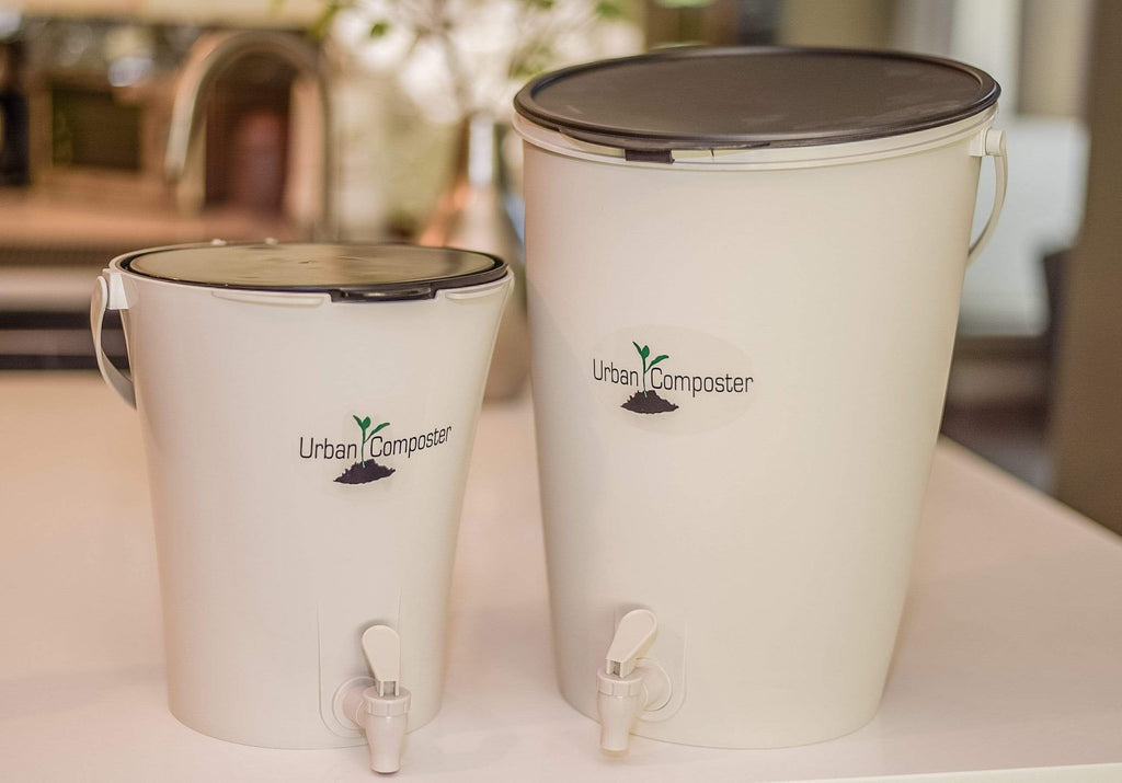 Home & Garden Lime Urban Composter City - Countertop Composting System