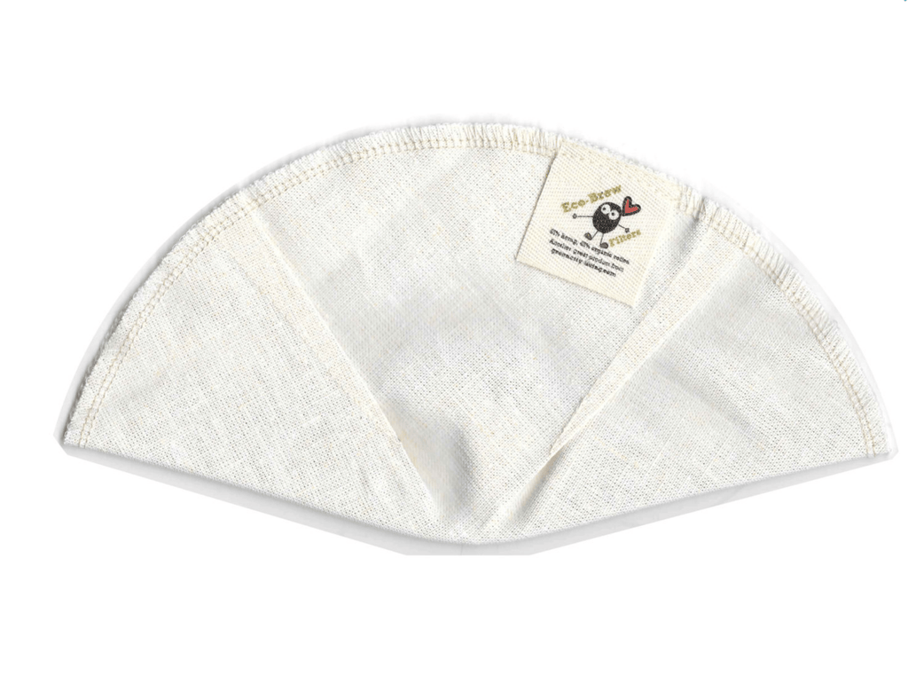 Kitchen Basket Reusable Coffee Filters - Organic Cotton and Hemp