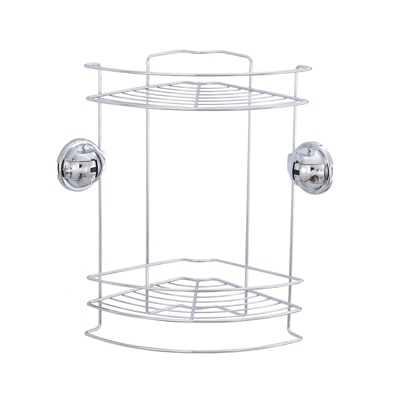 E7 EARL STAINLESS STEEL DOUBLE CORNER BASKET SET
