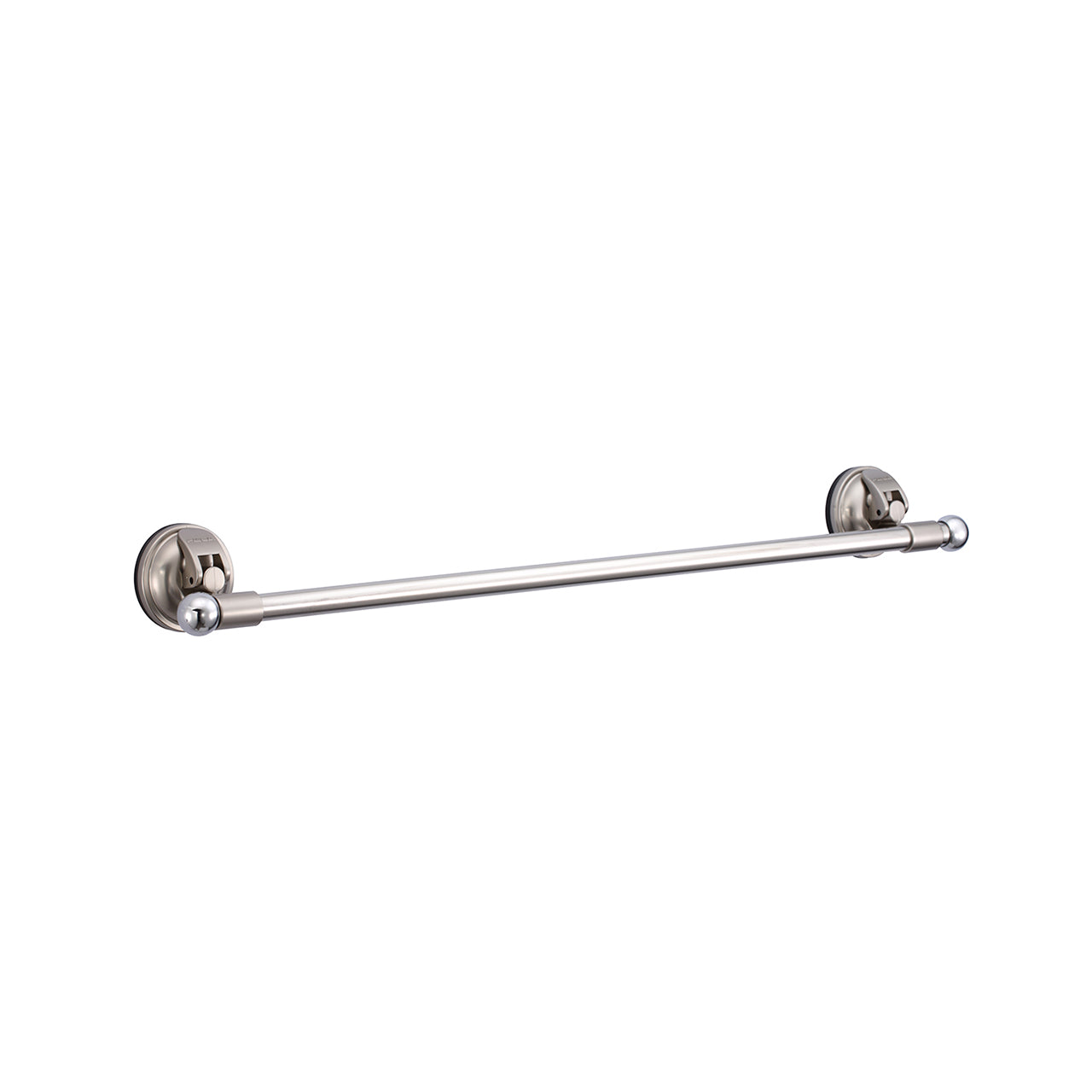 E11 EARL KNIGHT 60CM TOWEL HOLDER SET-  MATTE NICKEL