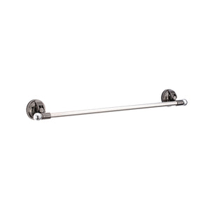 E11 EARL-JAZZ 60CM TOWEL HOLDER SET- BLACK NICKEL