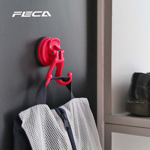 D27 DIANA 2 HOOKS SUCTION CUP [Colour: ROSE BLOOM]