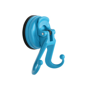 D27 DIANA 2 HOOKS SUCTION CUP [Colour: Blue]