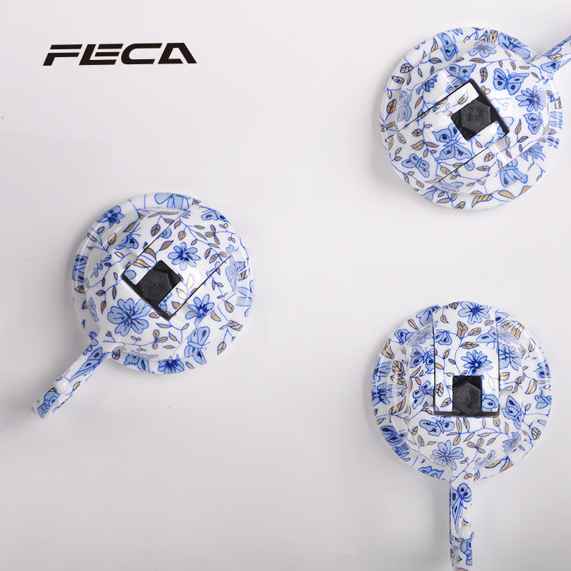 S13 SAMURAI SUCTION HOOK - Blue and White Porcelain