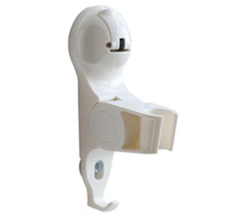 S23 SAMURAI ADJUSTABLE SHOWER HOLDER- WHITE