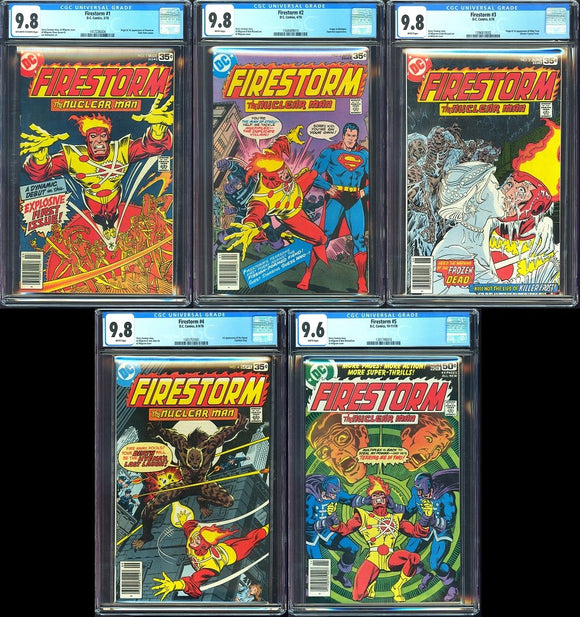 Firestorm (1978) Complete Set - CGC Graded