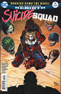Suicide Squad Vol 4 #14 - DC Rebirth - Burning Down the House