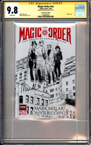 Magic Order #nn - CGC SS 9.8 - C2E2 Ashcan Edition