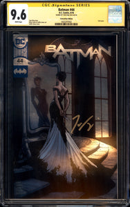 Batman #44 - CGC SS 9.6 - Convention Edition (Silver Foil) - Signed