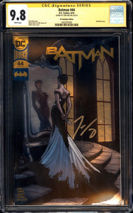 Batman #44 - CGC SS 9.8 - DC Boutique Edition (Gold Foil) - Signed