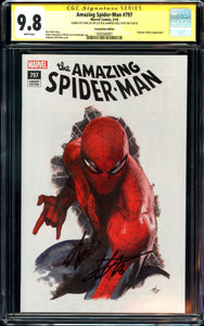 Amazing Spider-Man #797 - Convention Edition - CGC SS 9.8 - Stan Lee & Dell'Otto
