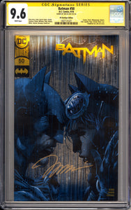 Batman #50 - DC Boutique Edition - CGC 9.6 - Signed by Jim Lee
